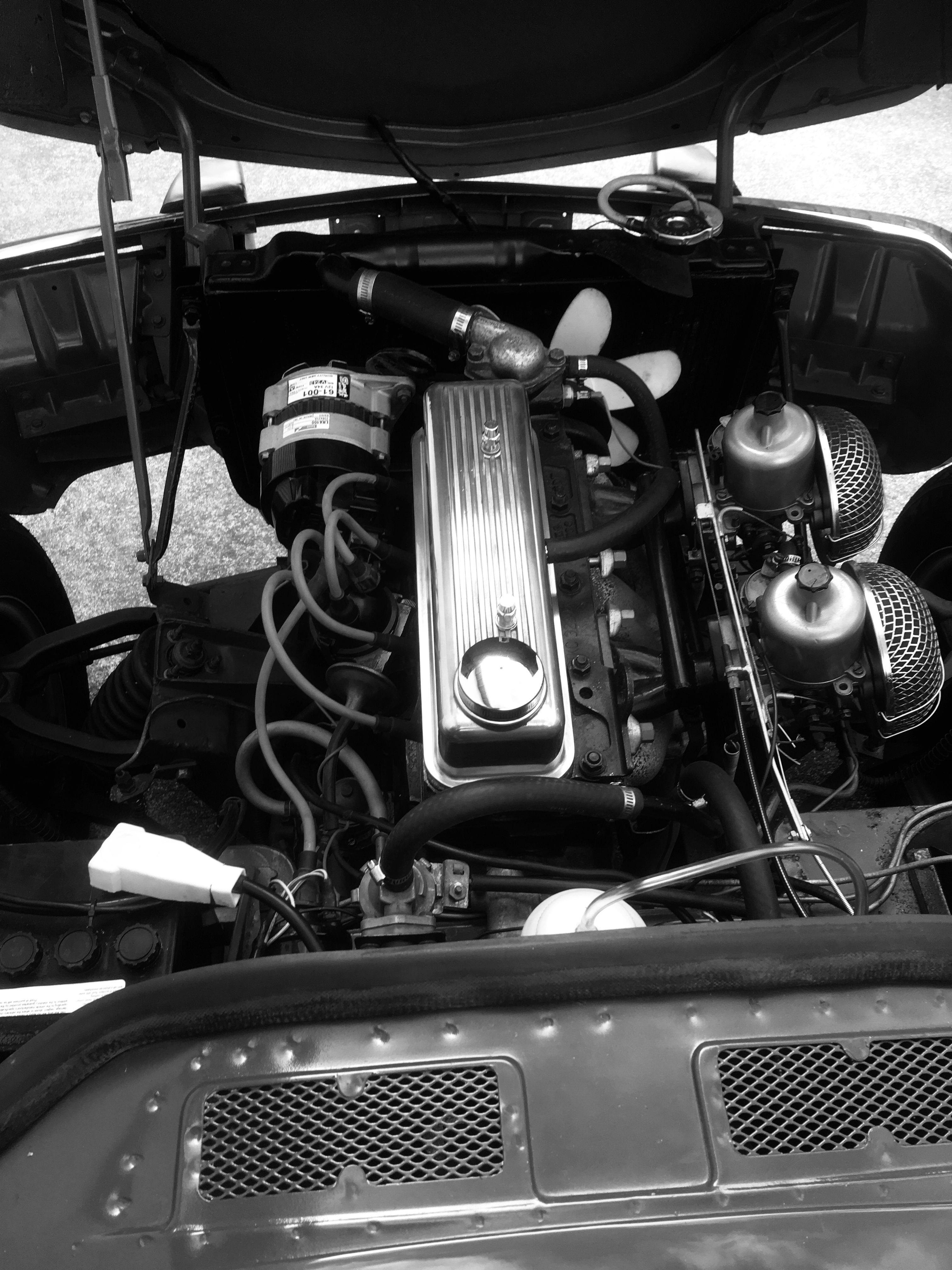Pin by Erik Moore on Triumph engine bays Triumph cars