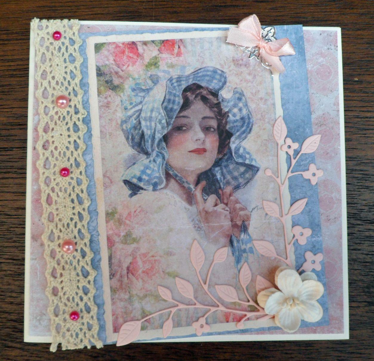 kaart van Romantic Portraits http://grietshobbykamer.blogspot.nl/