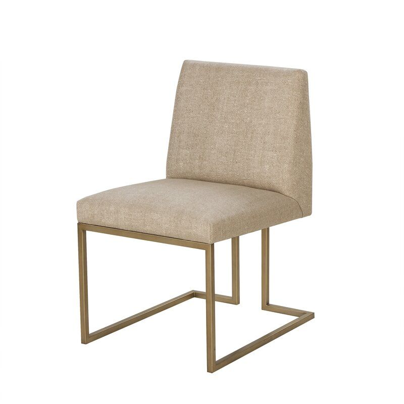 Everly Quinn Nolanville Upholstered Dining Chair Wayfair Side Chairs Dining Side Chairs Upholstered Dining Chairs