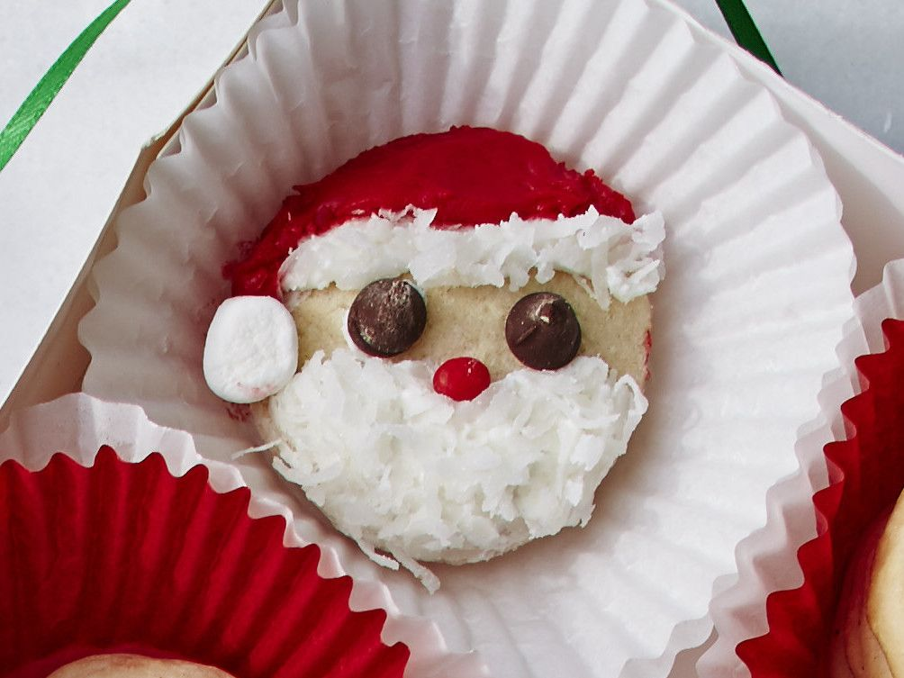 Easy Santa Cookies Recipe Santa cookie recipe, Southern living and