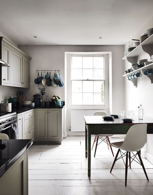 25 Beautiful Kitchen Dining Areas That Are Industrial-Inspired