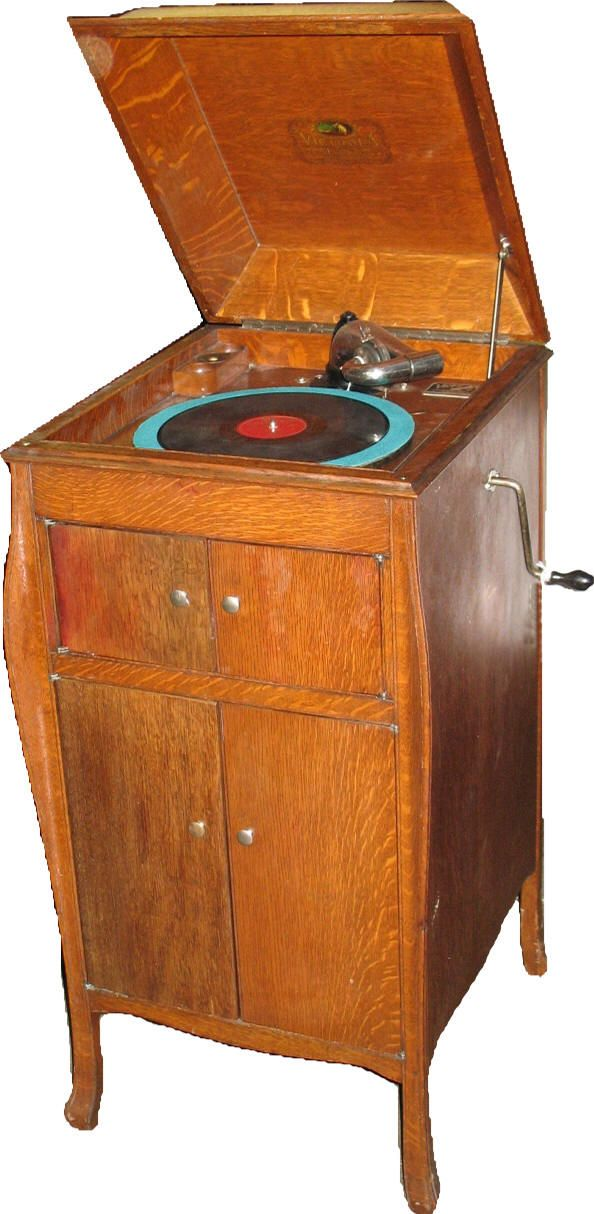 The Victor Victrola Page Victrola Record Player Vintage Record Player Old Record Player