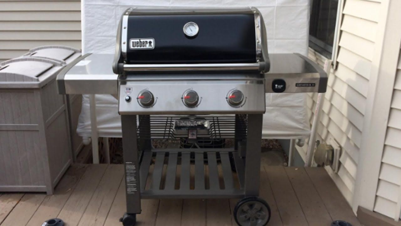Weber Genesis Ii E 310 Gas Grill Review Gas Grill Reviews Gas Grill Backyard Grilling
