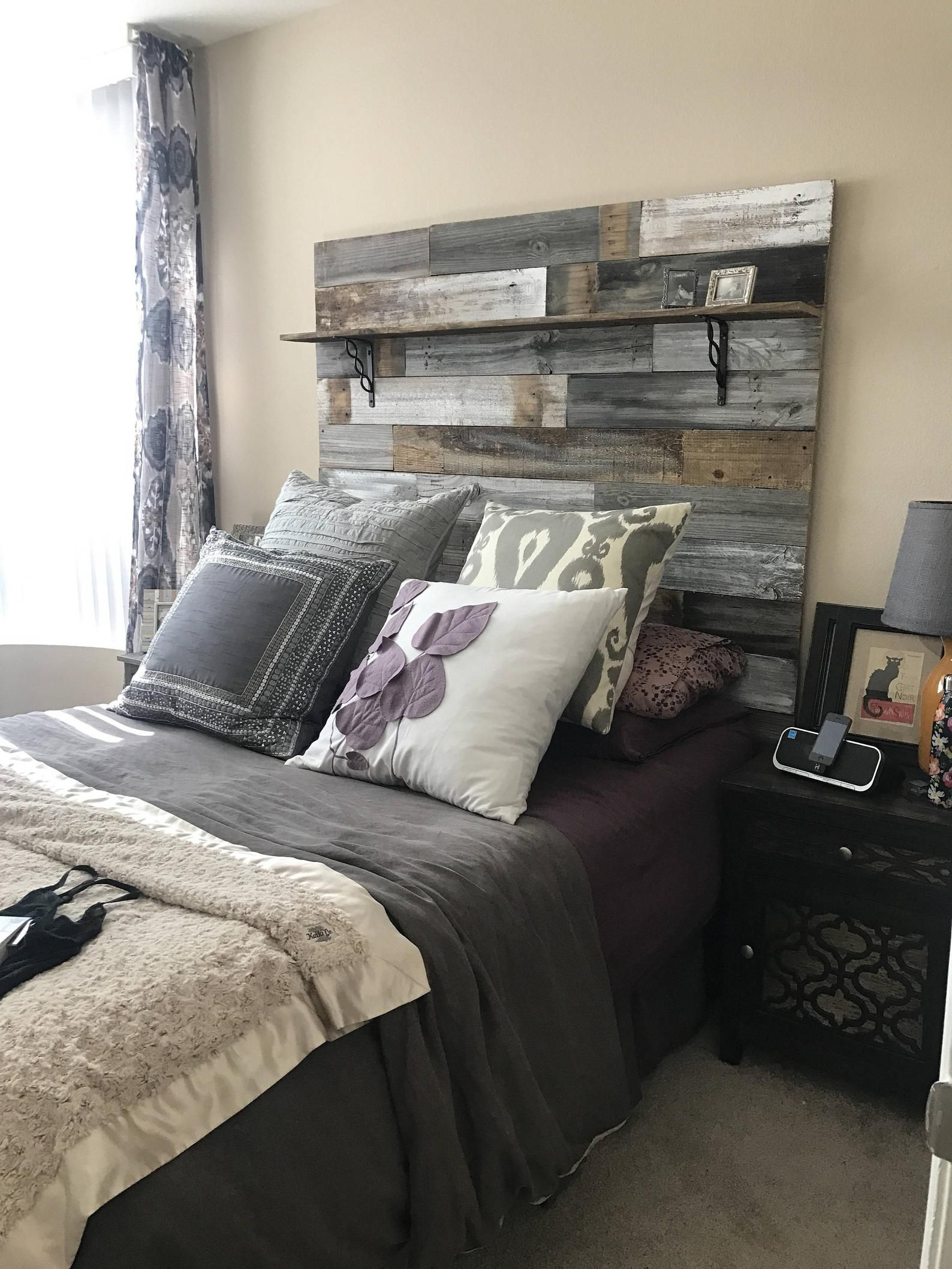 Pin On Favorite Pallet Headboards Designs