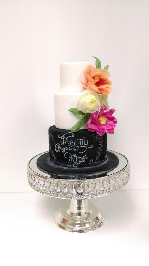 Wafer paper flower - Cake by Angela's Sugarcraft