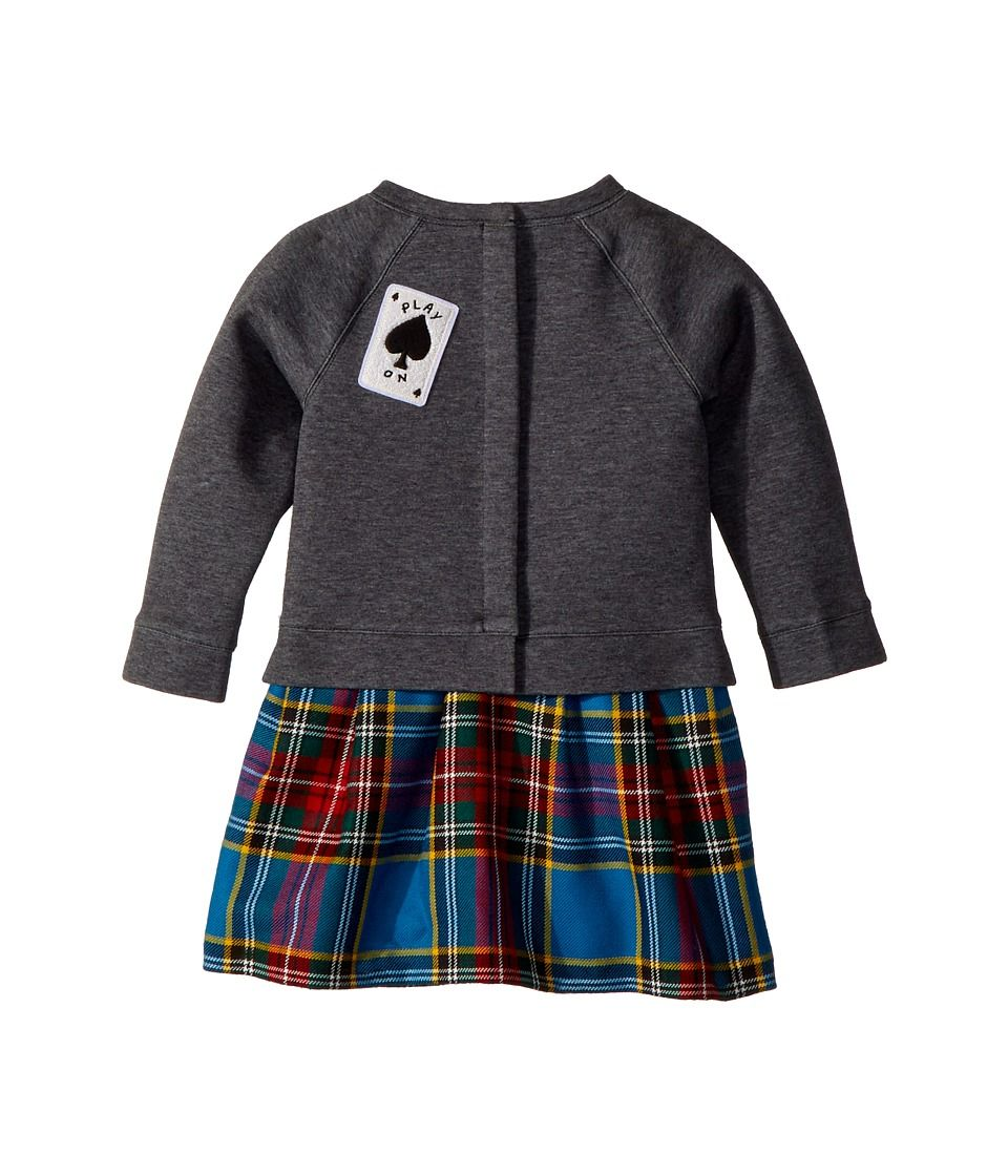 dbd5eb725368 Burberry Kids Mini Francine Sweater Top Check Skirt Dress (Infant ...