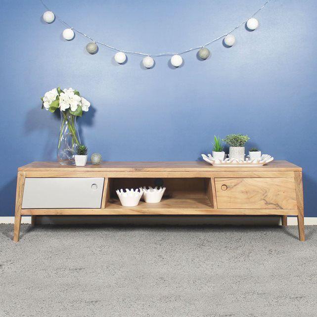 meuble tv en bois design bt22 - Meuble Tv Made In Design