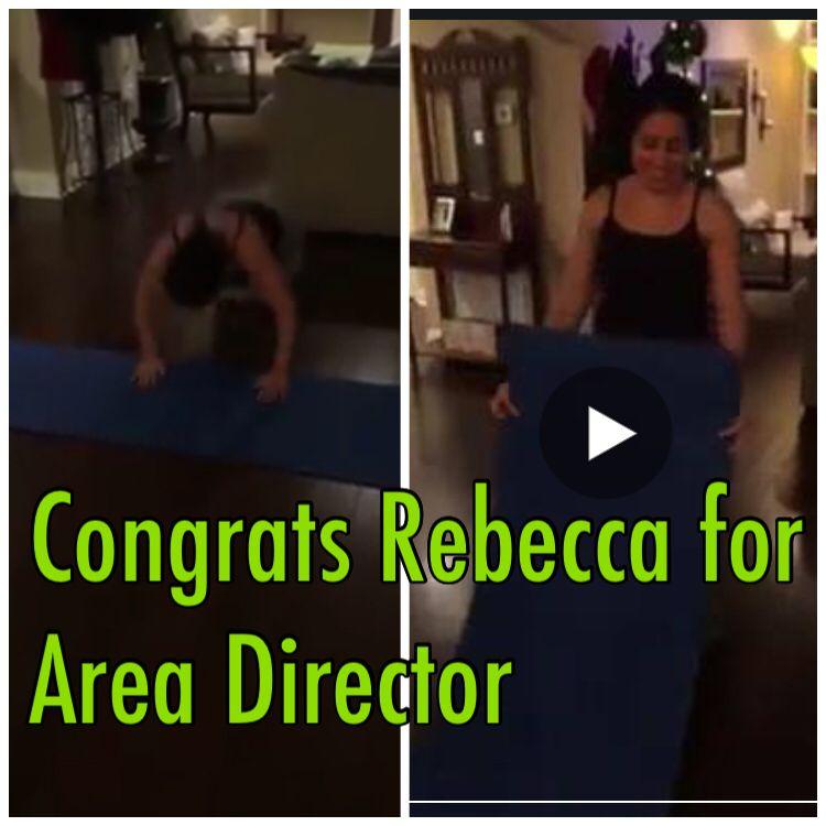Congrats to Rebecca Gonzales for Area Director within Vi- :) #Health #Life #Vi #Vilife #ViSalus ✅ ' #entrepreneur #skills #success #leadership #business ✅ ' #teamZ #TeamTurnT #values ✅ ' #wisdom #inspire #motivate
