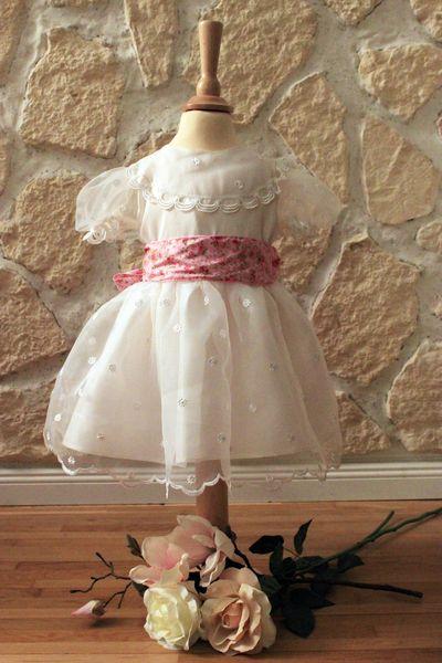 christening robe, christening dress, girls dress, marriage Genau das ...