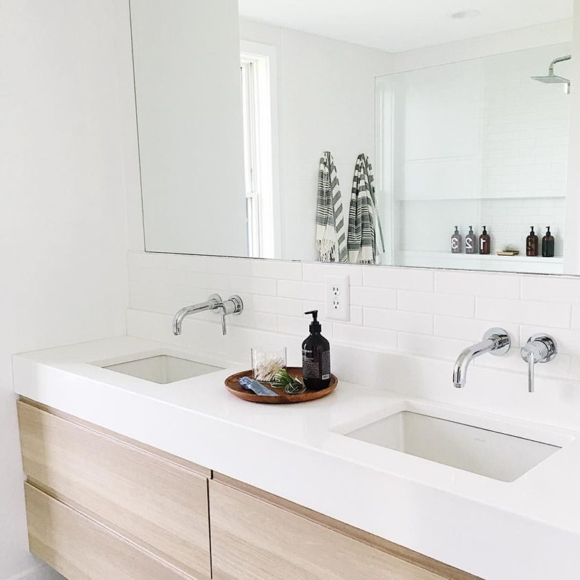 Bathroom Design Ideas: Ikea Godmorgon Cabinet With Custom ...