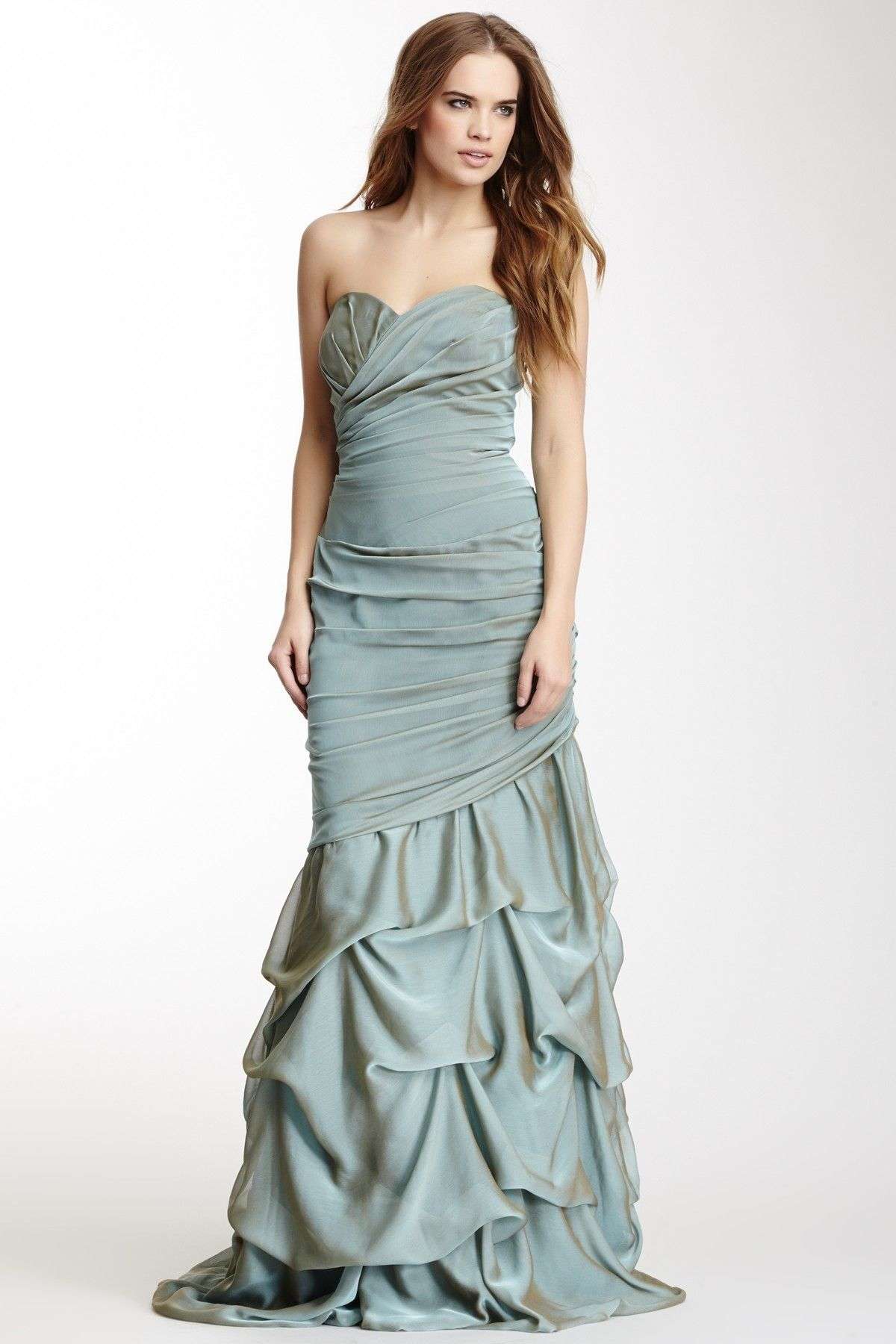 Wedding dress donations for military brides  strapless ruched gown  CoutureGowns  Pinterest  Gowns