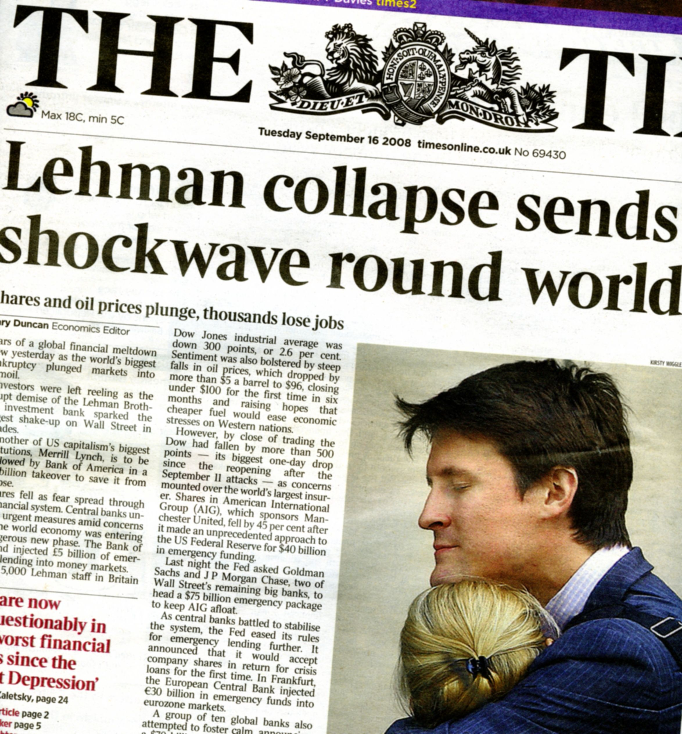 A Film about the Lehman Collapse and the Problem of Dirty Hands ...