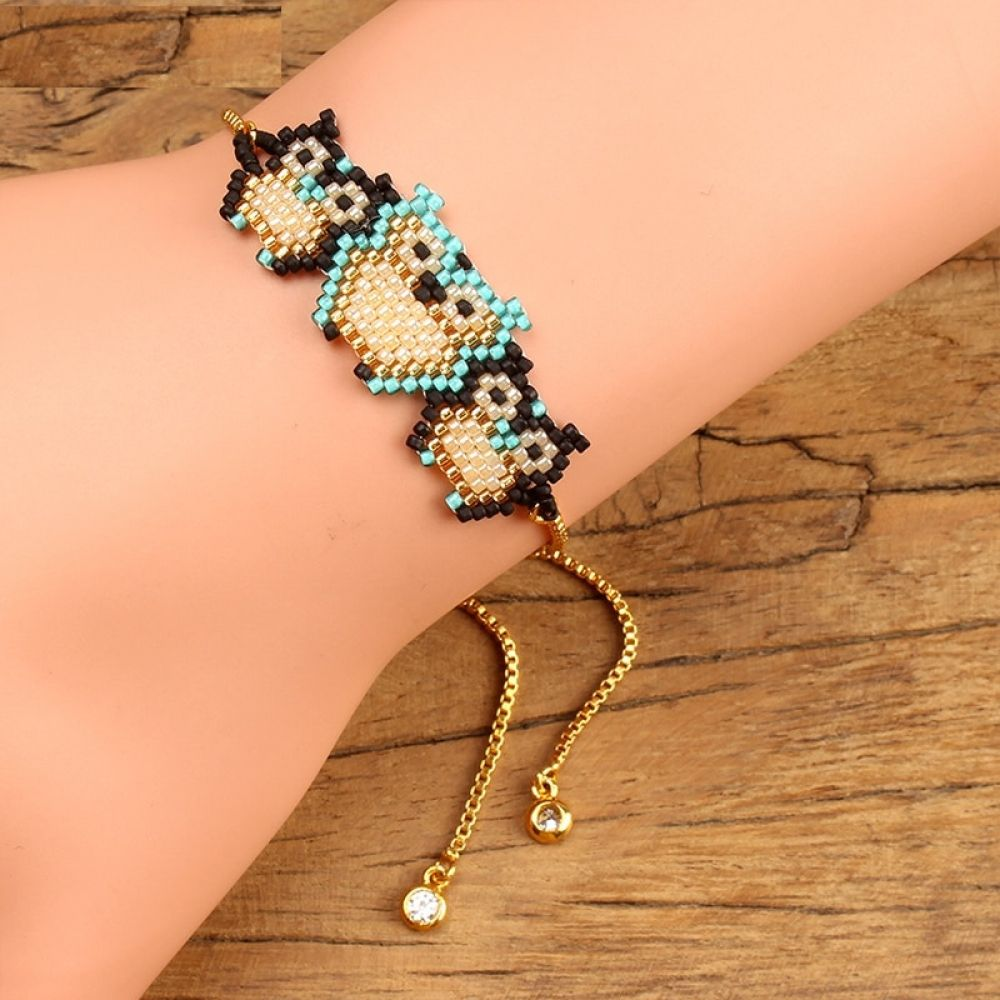 Cool three owls bracelet with images owl bracelet