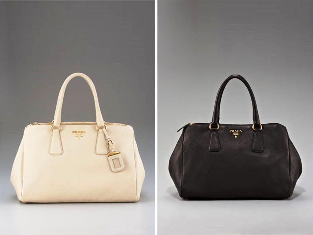 Prada Handbags Black
