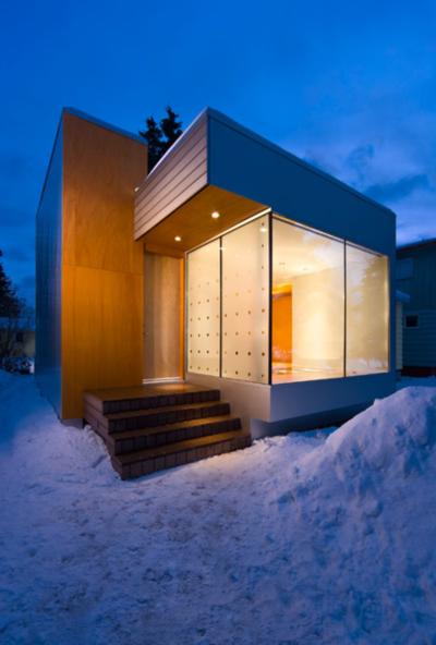 Anchorage Alaska Black White Studio Architects
