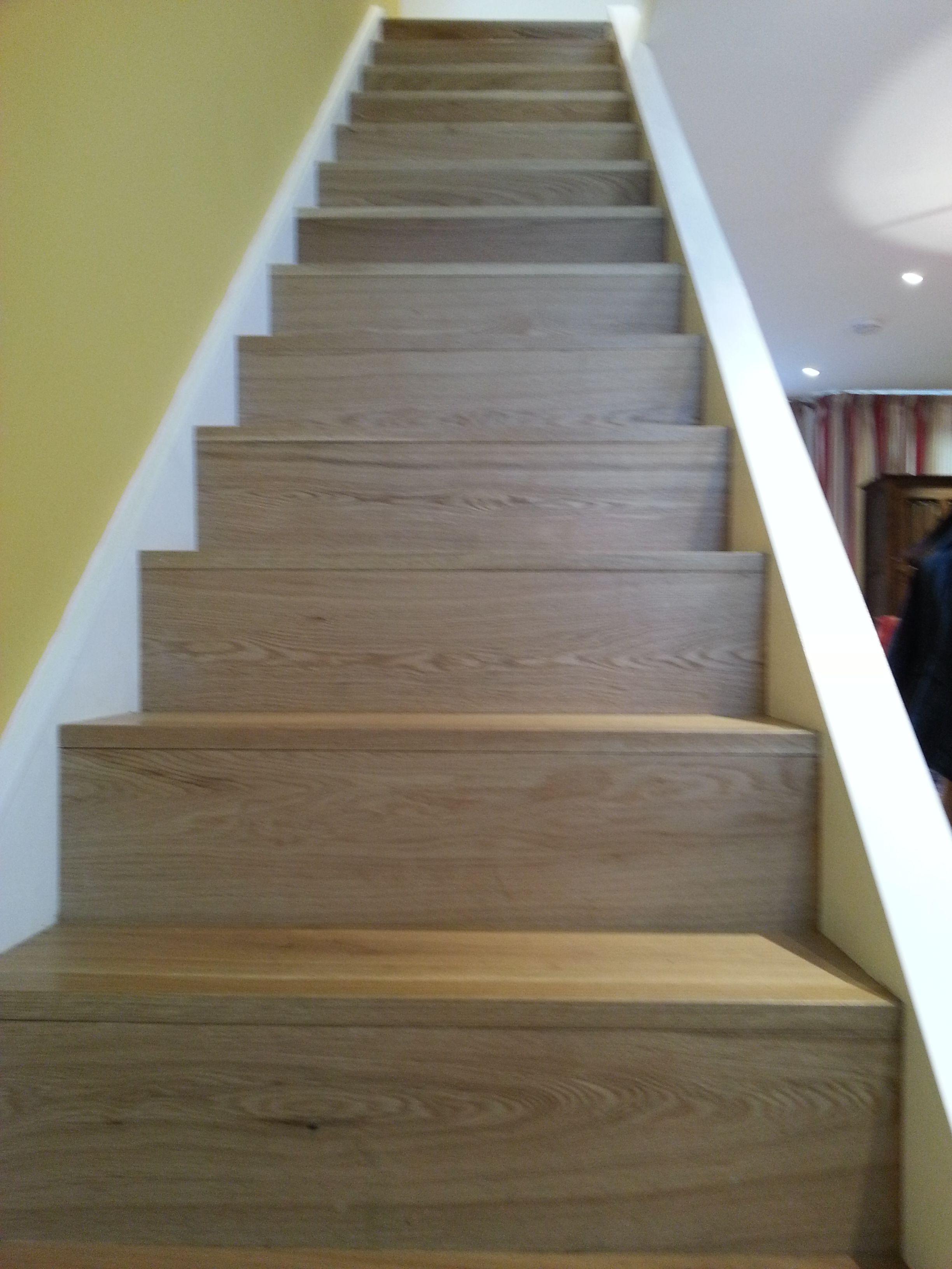 Best Solid Oak Stair Clear Matt Finishing Designed By Www 400 x 300