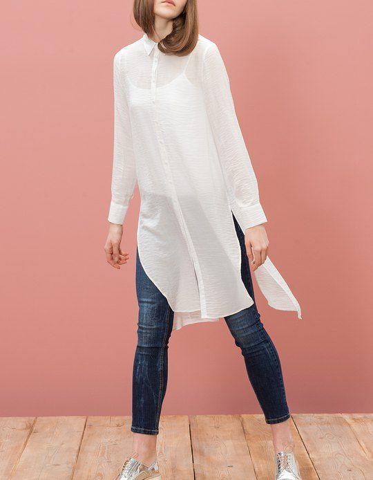 outfits que necesitas en tu closet tunica | Camisas largas