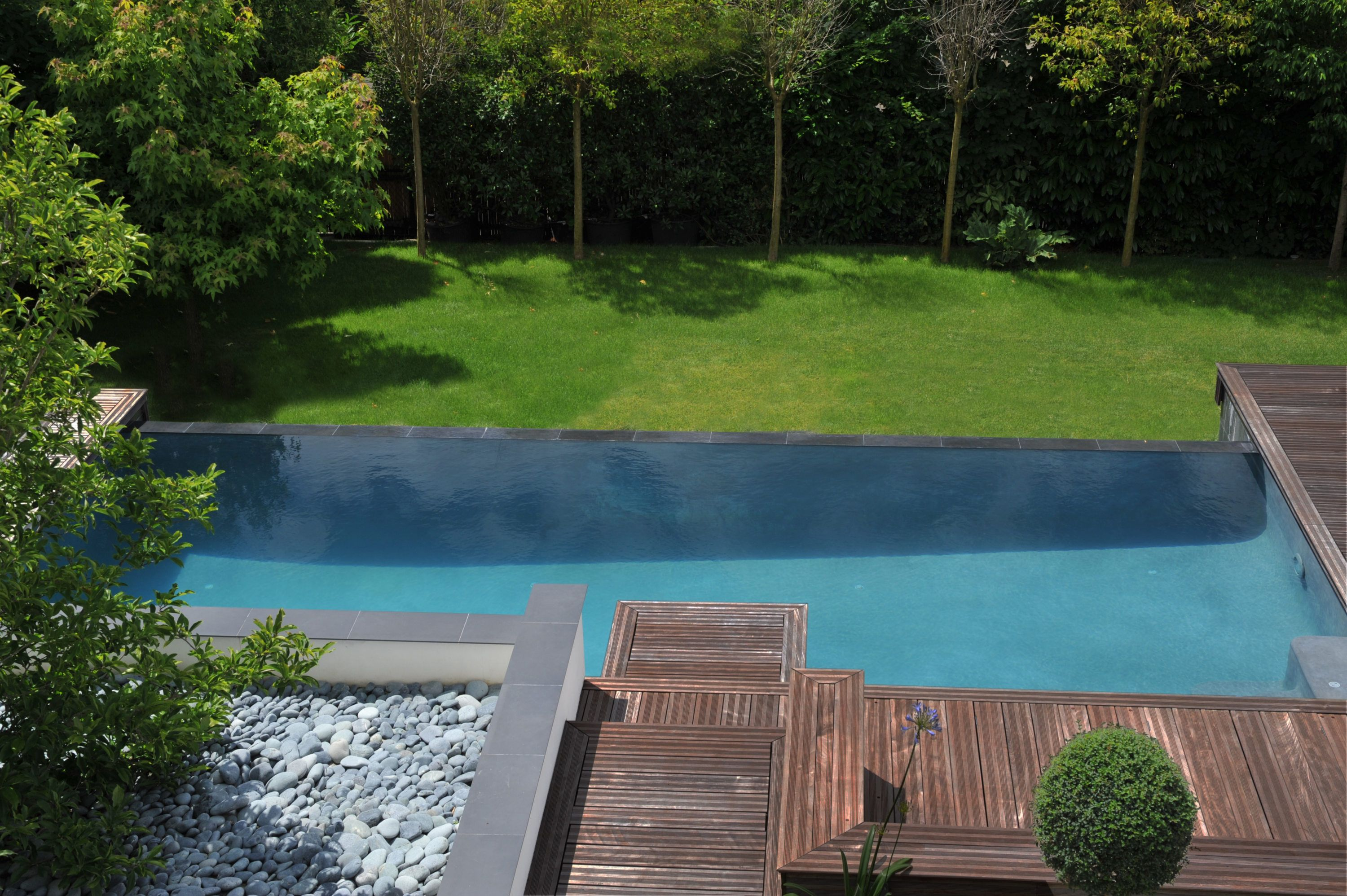 Piscine Diffazur contemporaine
