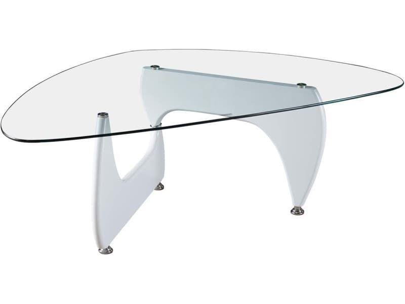 Table Basse Tara 120 X 70 5 X 41 Cm Blanc Laque Vente De Habitat Et Jardin Conforama Table Basse Table Habitat