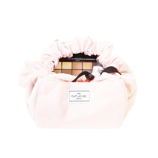 Fine Blush Pink Open Flat Makeup Bag 50Cm Flat Lay Makeup Bags Creativecarmelina Interior Chair Design Creativecarmelinacom