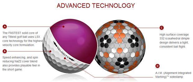 Titleist Velocity Golf Balls $26.99