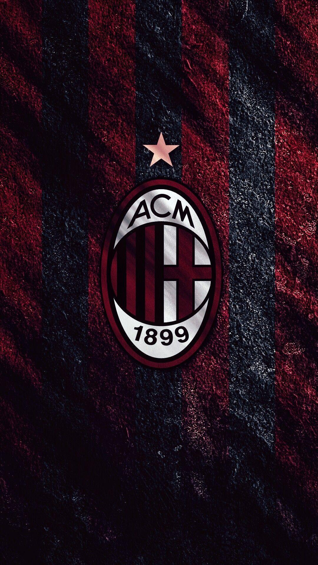 Ac Milan Wallpaper Footballclubwallpapers Sepak Bola Bola Kaki