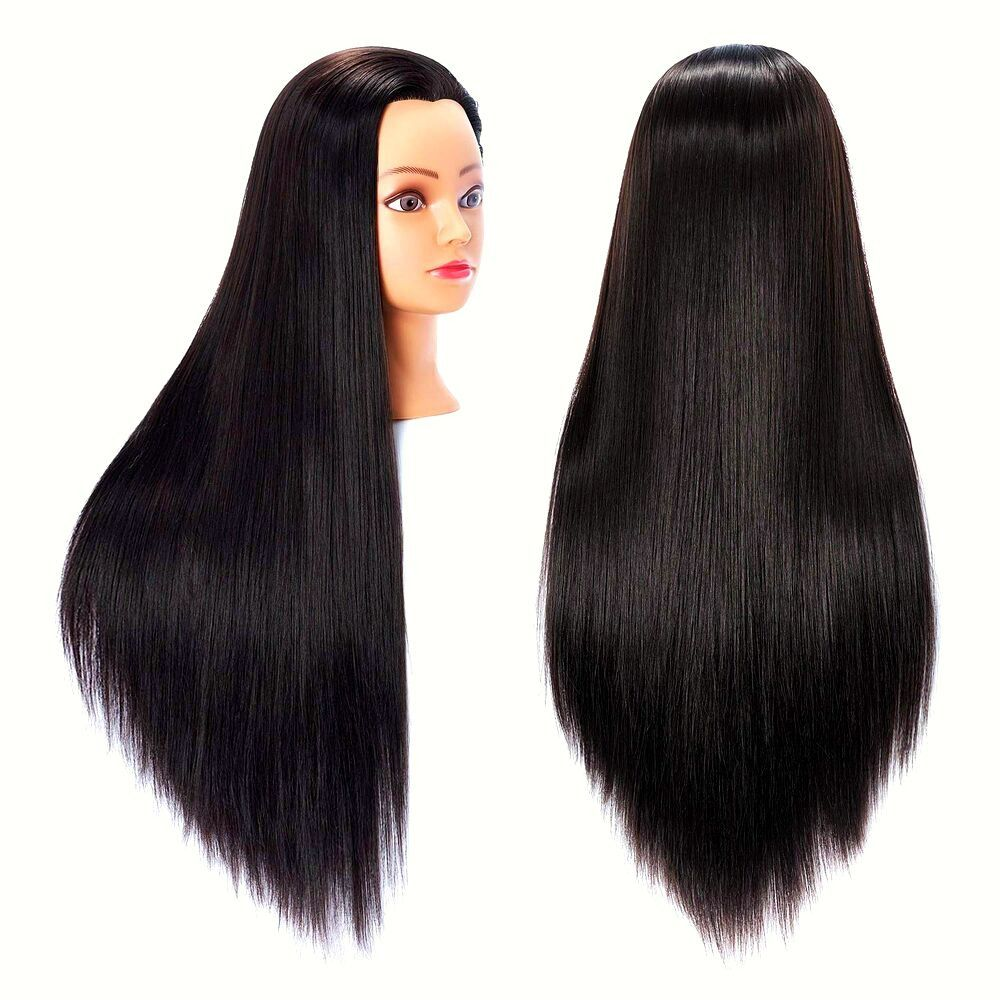 MANNEQUIN HEAD WITH HAIR FEMALE cosmetology MANIKIN HEAD