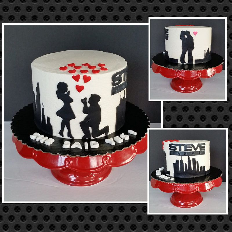 Wedding Proposal Cake Wedding Proposals Proposals And