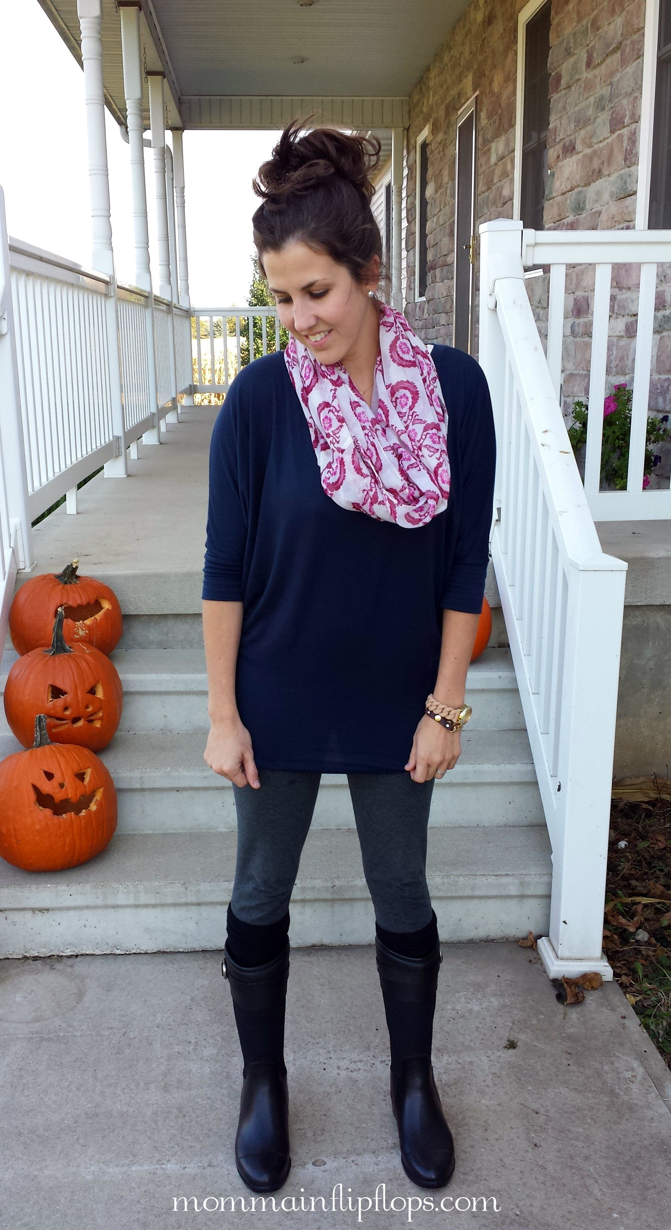 A N D Y S T Y L E: Chooka Rain Boots! Outfit Of The Day ...