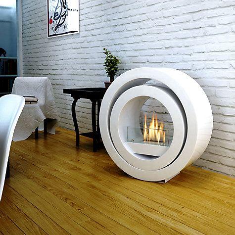 Buy Imagin Globus Bioethanol Fireplace White John Lewis Bioethanol Fireplace Portable Fireplace Ethanol Fireplace
