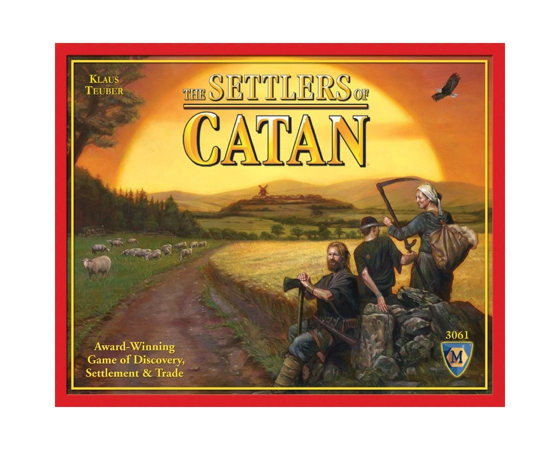 Settlers of Catan New Version Board Game Settlers of