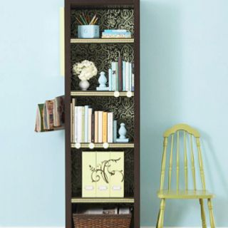 Paper backed bookcase