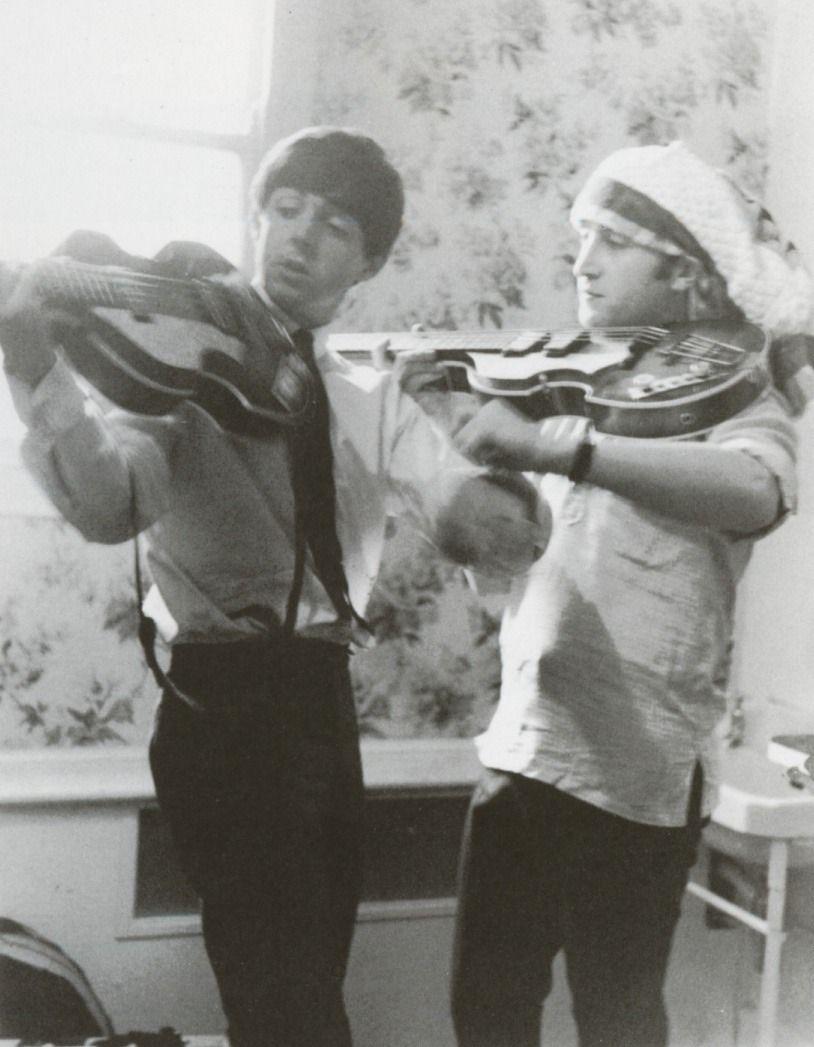 the u201cviolin u201d bass with paul mccartney and john lennon icons