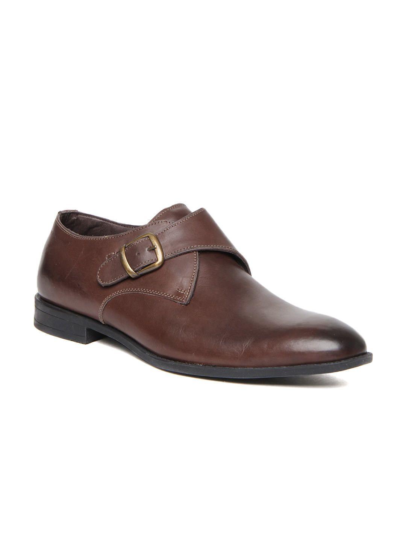 Buy Hush Puppies Men Brown Leather Semi Formal Shoes 633 Footwear For Men 347844 Semi Formal Shoes Formal Shoes Dress Shoes Men