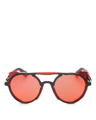 f3d3b9c045b5 GIVENCHY 7038 Mirrored Round Sunglasses, 50mm. #givenchy #50mm Red Mirror,  Mirrored