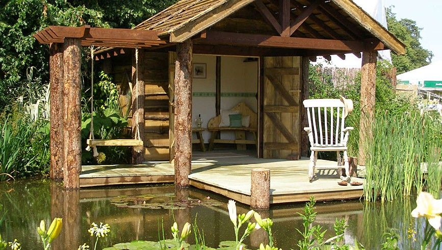 Garden buildings and structures landscape garden for Wooden studios for gardens