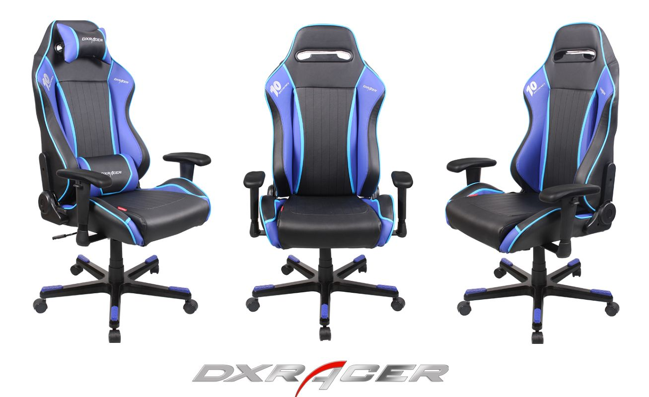 Dxracer Drifting Chair Df52nb 369 Black And Blueps3