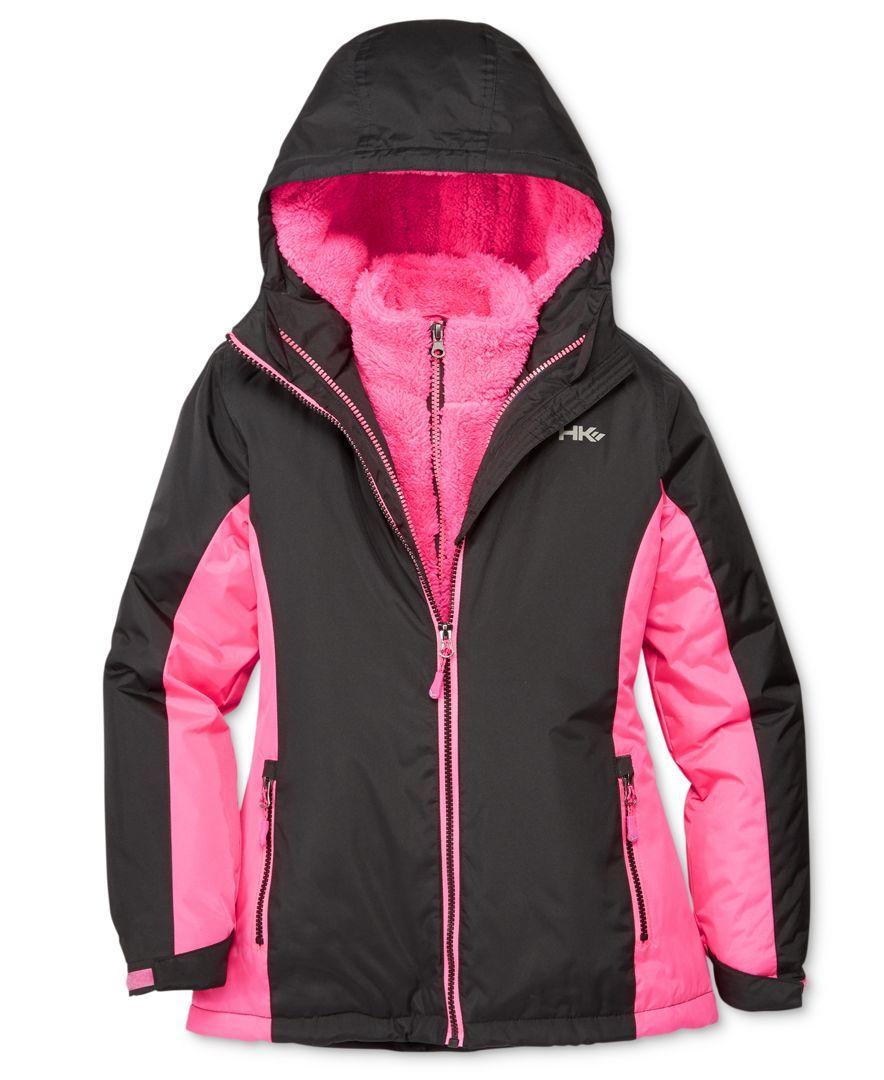 Hawke Co 3 In 1 Systems Jacket Girls 7 16 Jackets Kids Jacket Athletic Jacket [ 1080 x 884 Pixel ]