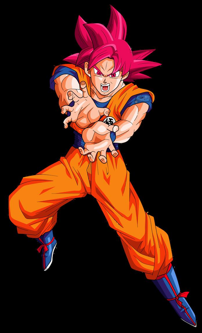 Goku Super Saiyan God By Chronofz Dragon Ball Super Manga Anime Dragon Ball Super Goku Super Saiyan God