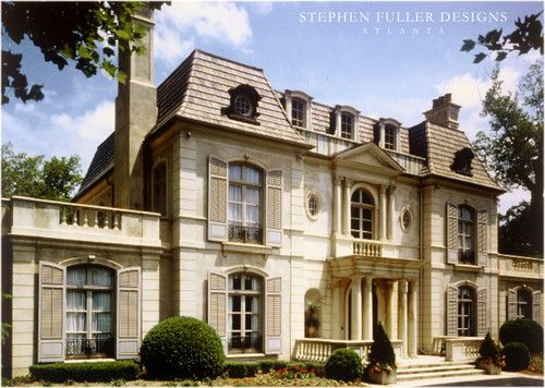Traditional Exterior Photos French Provincial Design Pictures Remodel Decor And I Beautiful Houses Exterior Traditional Exterior Craftsman Style House Plans