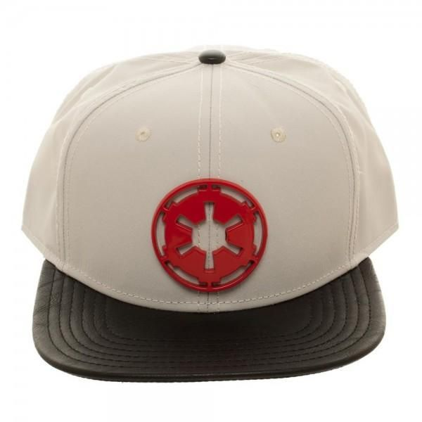 size 40 f4f27 faddc Channel some of that Dark Side style in your everyday wardrobe with this  light tan nylon Star Wars AT-AT Driver Metal Badge Snapback hat ...