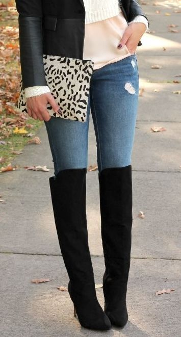 How to Wear Over the Knee Boots for Every Body Type | Overknees