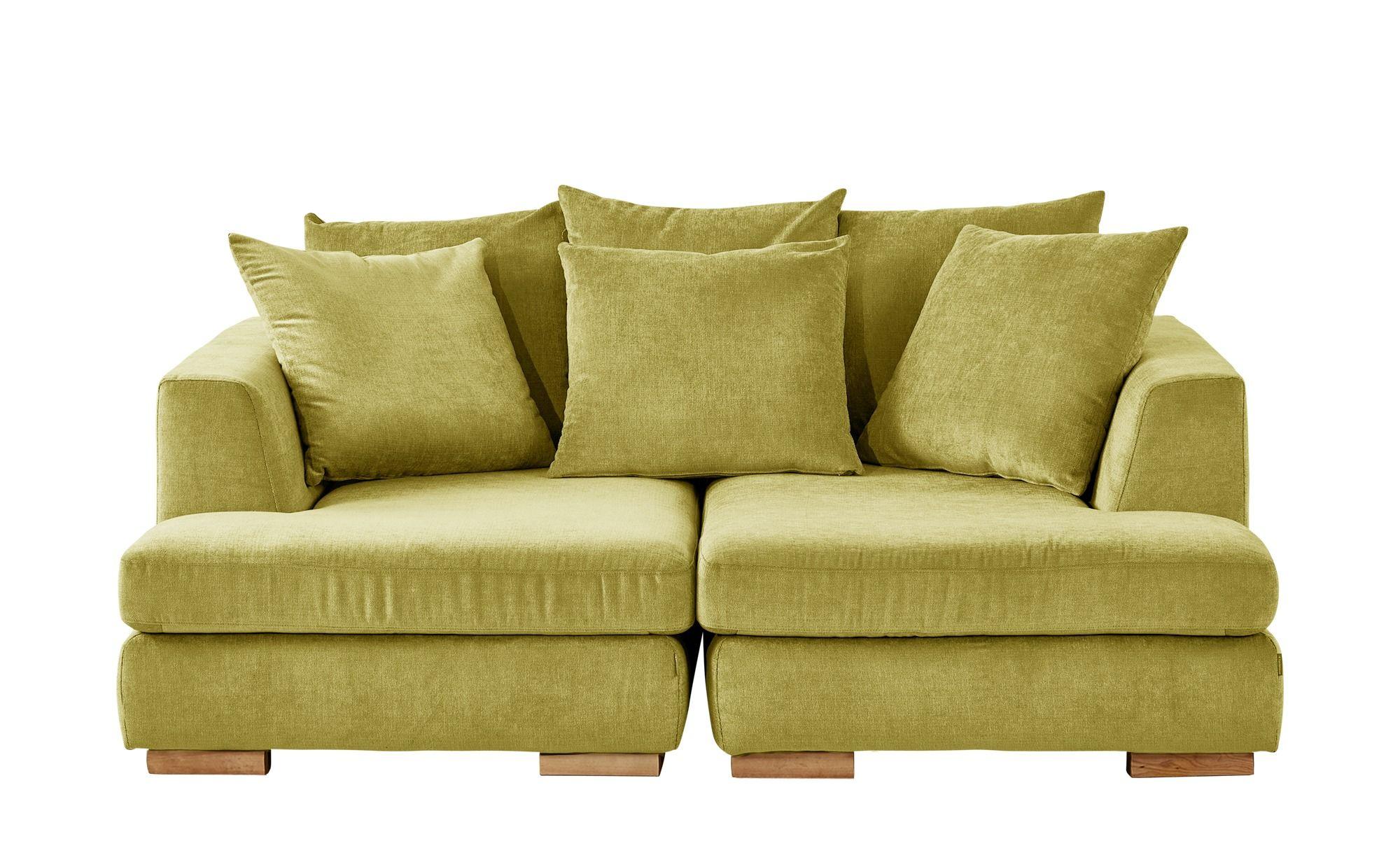 Soho Loveseat Gelb Webstoff Paso Doble Kleines Sofa Sofa Design Ecksofa Schlaffunktion