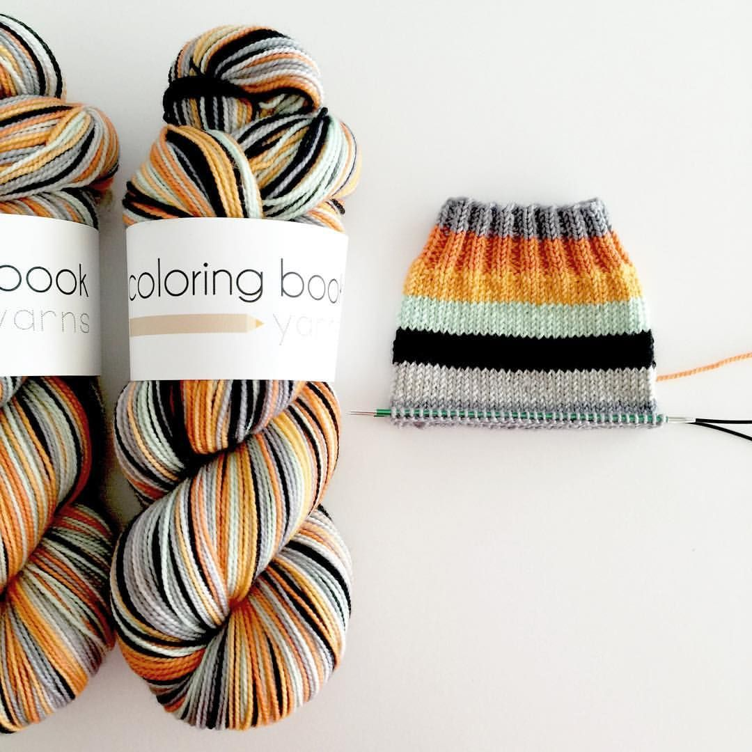 From colouring book yarns (@bitterknitter) - Autumn & Mint ...