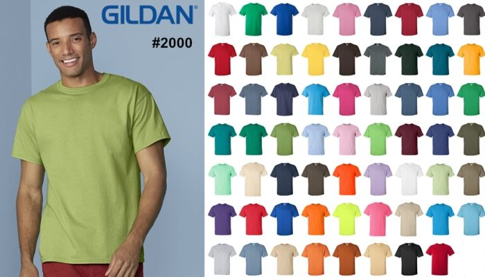 Gildan 2000 Ultra Cotton T Shirt from NYFifth