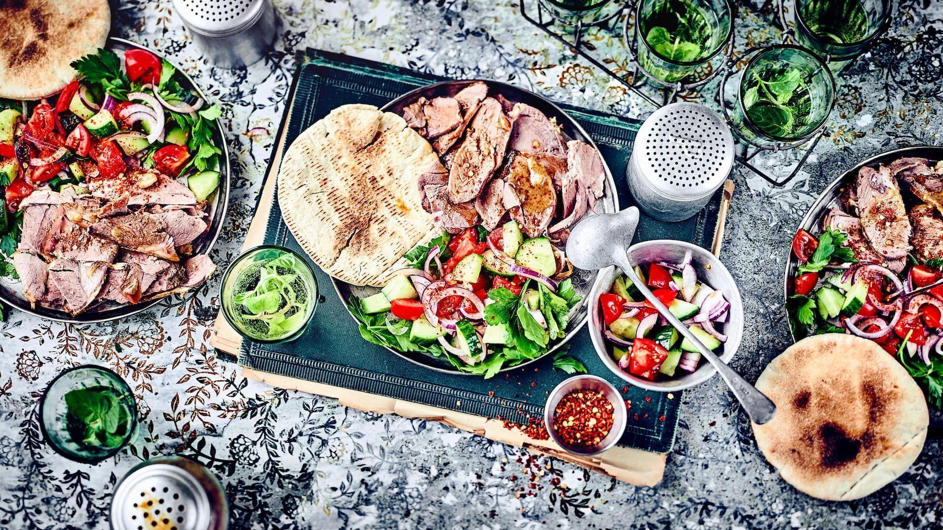 Levante-Küche – orientalisch lecker  EDEKA #levanteküche Levante