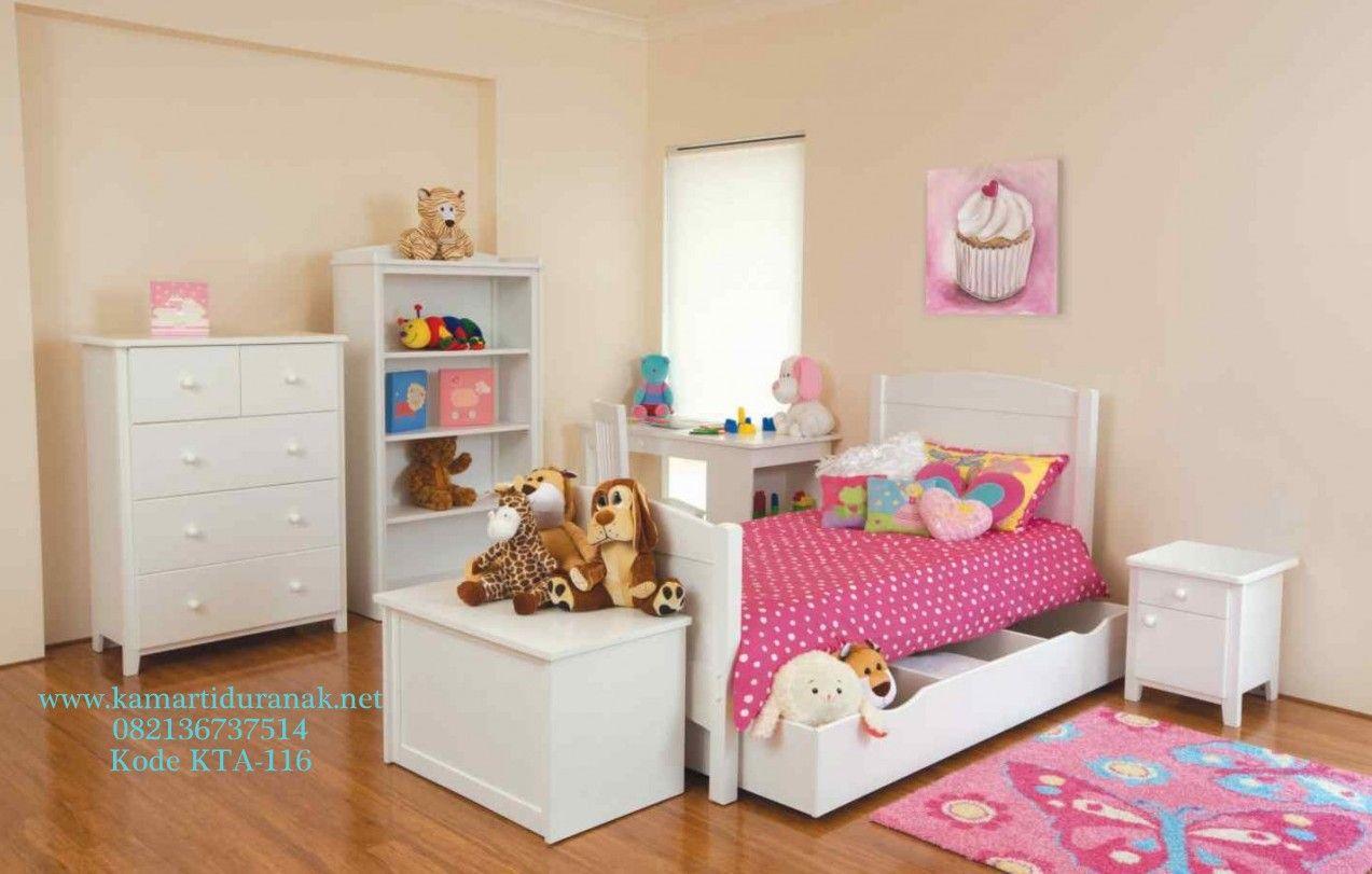 Bed cover my love anak - Jasa Pembuatan Set Kamar Tidur Anak Perempuan Duco Murah Cantik Desain Terbaru Kamar Set Anak