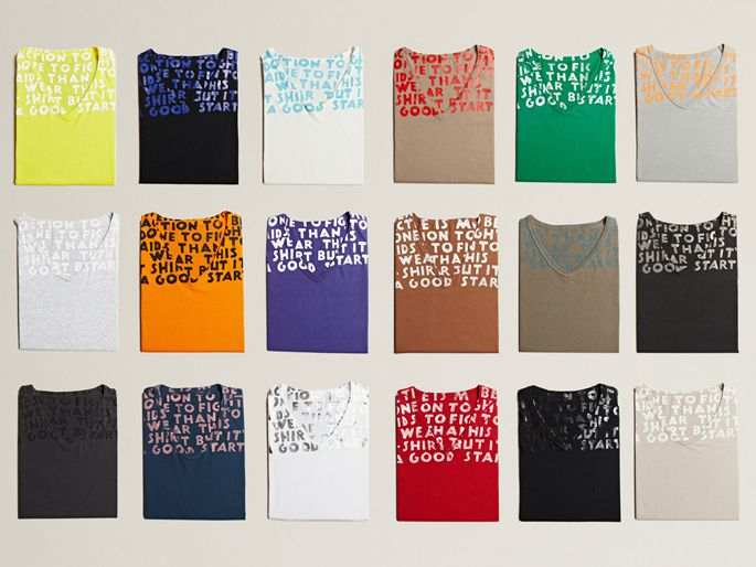 MMM (Maison Martin Margiela) Aids awareness t-shirts [LN-CC. | Quiet Lunch Magazine.]