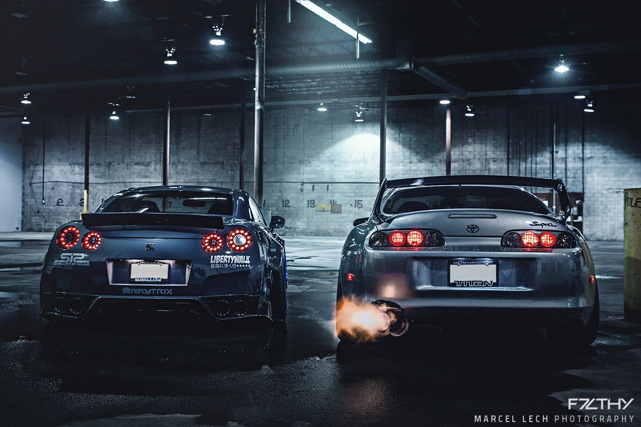 Ordinaire F7LTHY Liberty Walk Nissan GTR And Toyota Supra By LB Performance (1280×853)