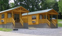 Deluxe Log Cabins At Hershey Highmeadow Campground 1200 Matlack Road Hummelstown Pa 17036 Phone 717 534 8995 Camping Resort Cabin Places To Go